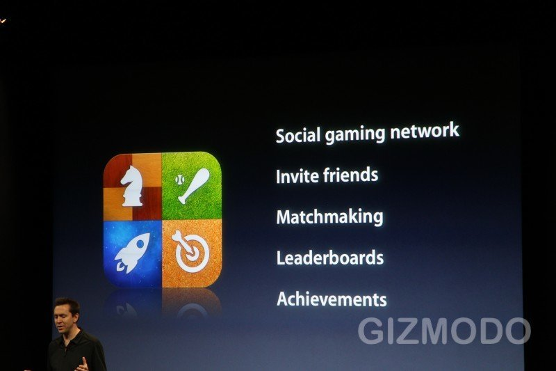 Game Center für iPhone OS 4.0