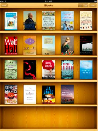 iBooks - Bücherregal