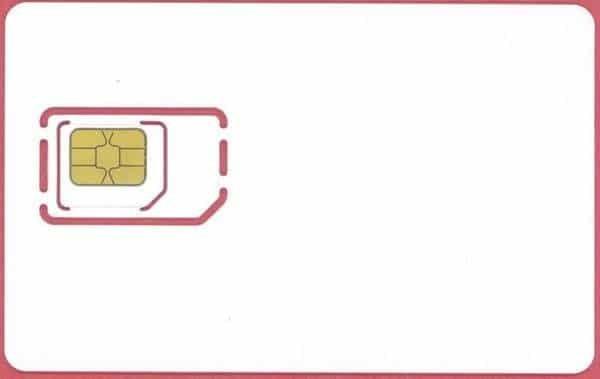 Micro-SIM im Vergleich zur Standard-SIM