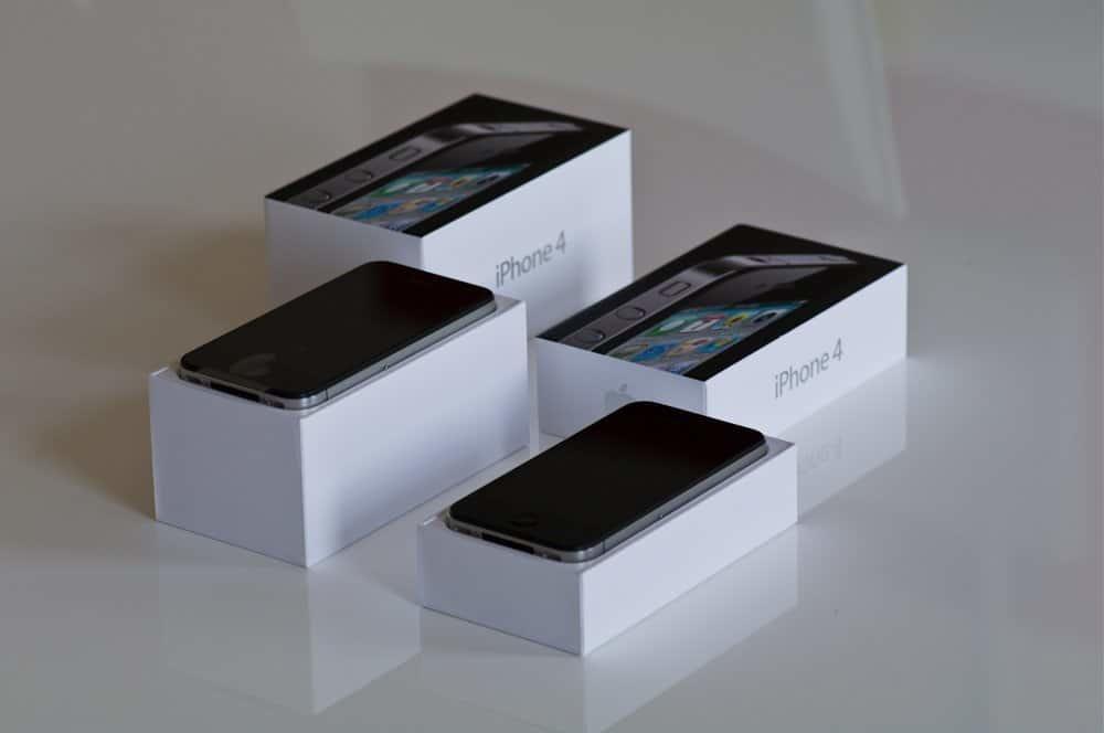 iPhone 4 - Verpackungsvergleich UK und D