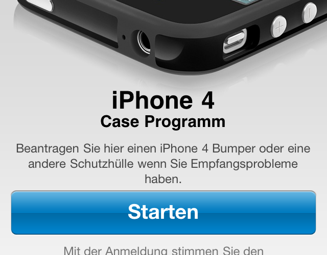 iPhone 4 Case Programm App