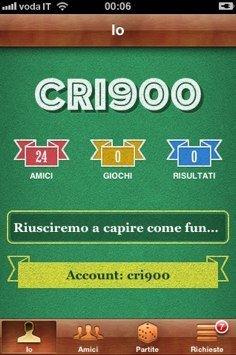 Game Center - Screenshot