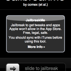 Jailbreakme.com für iPhone, iPod touch und iPad veröffentlicht