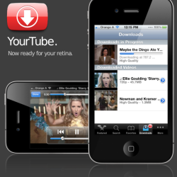 YourTube 2: Videos in iTunes Bibliothek verschieben