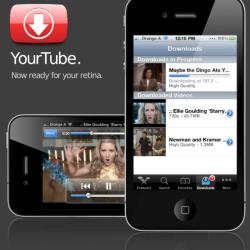 YourTube 2: Videos in iTunes Bibliothek verschieben