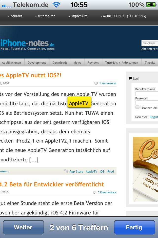 neues ios auf iphone 4