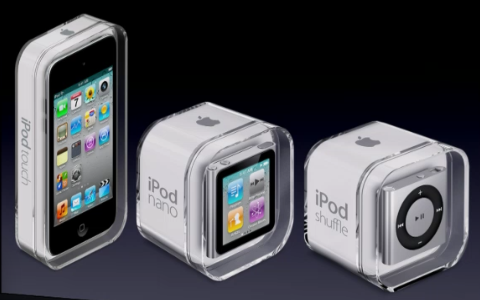 Apples neue iPods