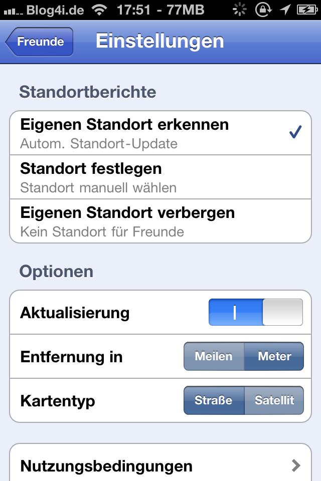 Google Latitude im App Store erschienen