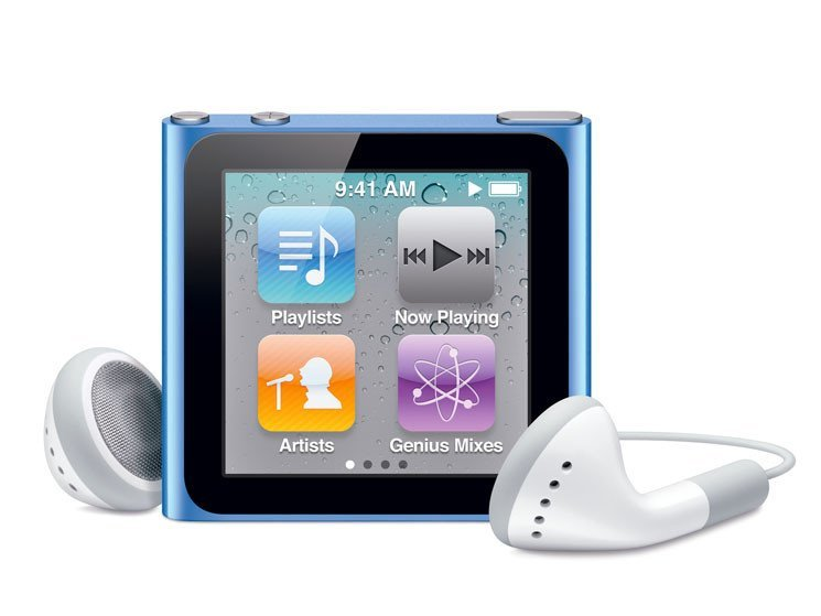 iPod nano 6G: Software Update 1.2 liefert Uhrendesigns und Fitness-Feature nach