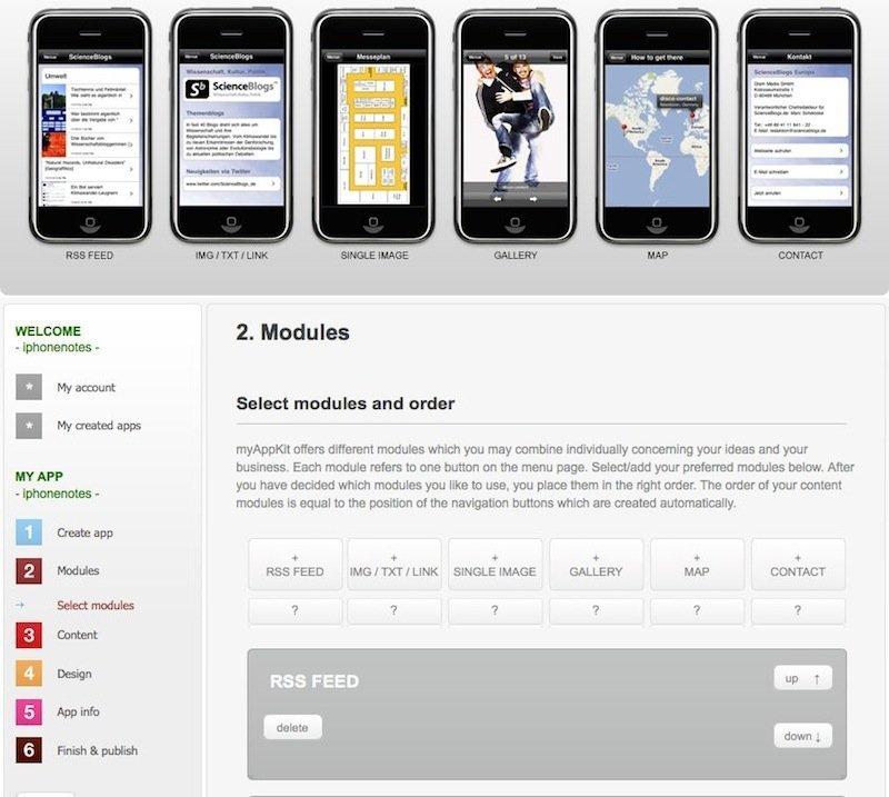 MyAppKit - Benutzeroberfläche