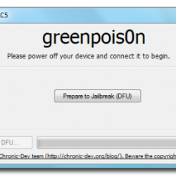 greenpois0n untethered Jailbreak iOS 4.2.1 nun auch für Windows
