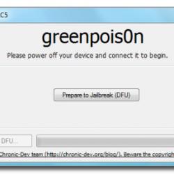 greenpois0n untethered Jailbreak iOS 4.2.1 nun auch für Windows