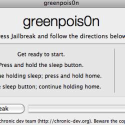 Anleitung: Greenpois0n Jailbreak iOS 4.2.1
