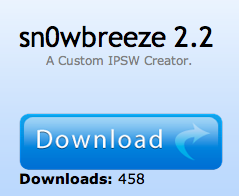 Sn0wbreeze 2.2 für untethered Jailbreak unter iOS 4.2.1 veröffentlicht