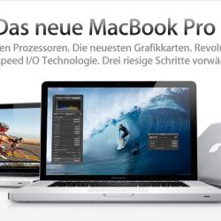Neue Generation des MacBook Pro erschienen