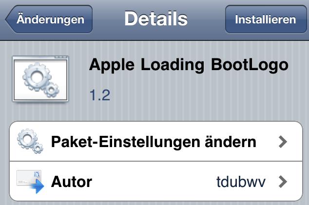 Apple Loading BootLogo