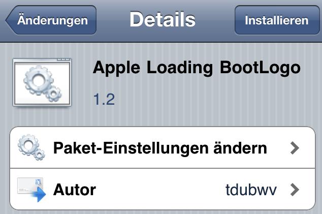 Apple Loading BootLogo