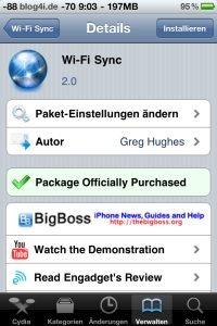 Wi-Fi Sync 2.0