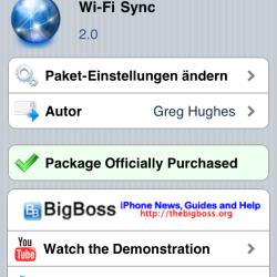 Wi-Fi Sync 2.0 Beta erschienen