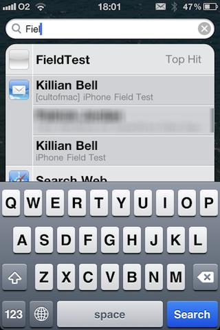 Field Test App