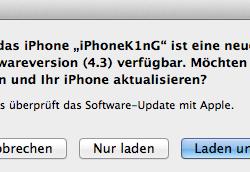 iOS 4.3 veröffentlicht