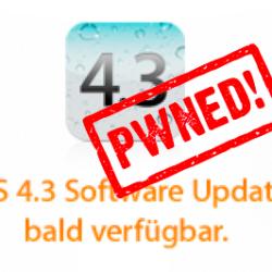 Jailbreak von iOS 4.3 Golden Master mit Pwnage 4.2