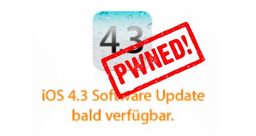 iOS 4.3 Pwned
