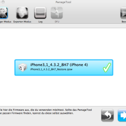 Anleitung: iPhone-Jailbreak unter iOS 4.3.2 mit Pwnage