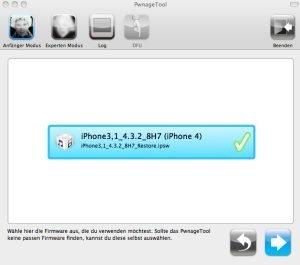 Pwnage 4.3.2 - Screenshot