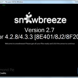 Anleitung: untethered Jailbreak unter iOS 4.3.3 mit Sn0wbreeze 2.7