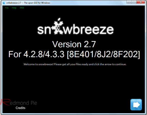 Sn0wBreeze 2.7