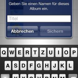 iOS 5: Fotoalben auf dem iDevice erstellen