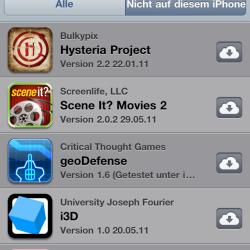 Mobile App Store erlaubt iCloud-Download