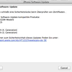 iOS 4.3.5 veröffentlicht