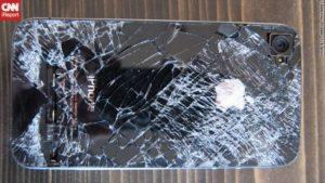 iPhone 4 aus Flugzeug gefallen