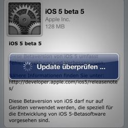"""Beta-Updates """"Over-the-Air"""" ohne Zurücksetzen möglich"""