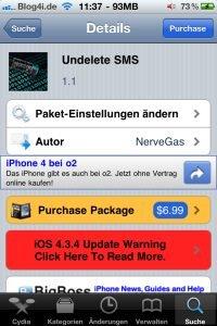 Undelete SMS