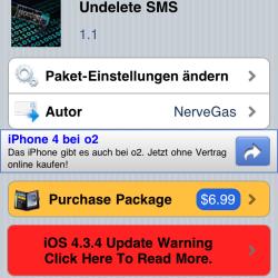 Anleitung: gelöschte SMS wiederherstellen auf dem iPhone