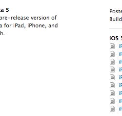 iOS 5 Beta 5 und iTunes 10.5 Beta 5 veröffentlicht