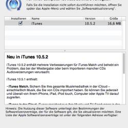 iTunes: 10.5.2 von Apple veröffentlicht