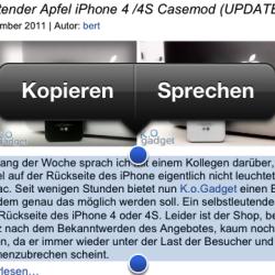Anleitung: Siri vorlesen lassen