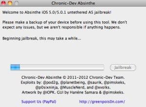 Absinthe - Screenshot