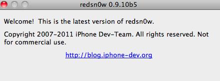 redsn0w 0.9.10.b5
