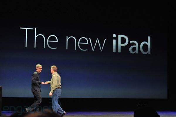 Das neue iPad - Tim Cook und Phil Schiller