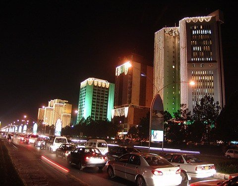 Islamabad, Jinnah Avenue, Geschäftsviertel, Foto: Adilkhan1