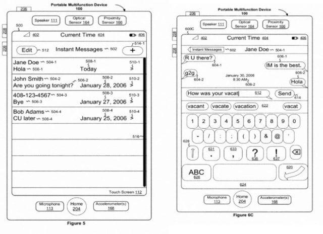 Konzeptzeichnung zum neuen Patent 8,223,134, das Apple gewährt wurde