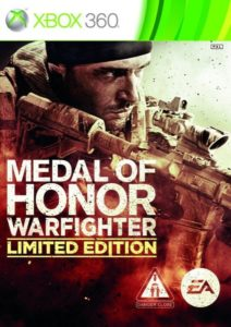 Medal of Honor: Warfighter Packshot Xbox 360 Limited Edition