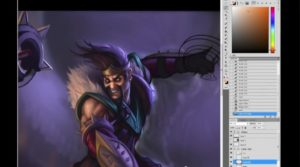 League of Legends: Draven Art Spotlight