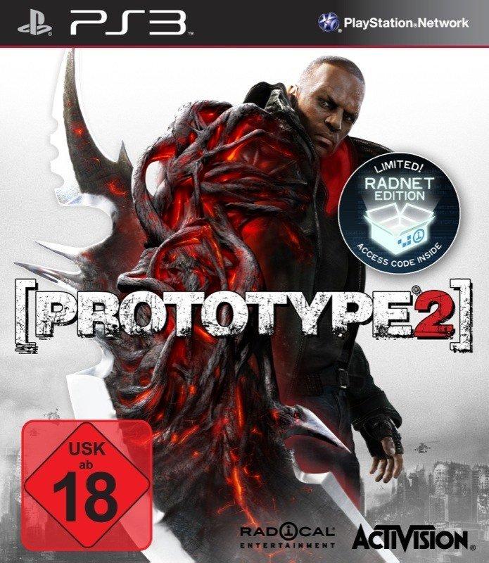 Prototype 2 - Cover PS3