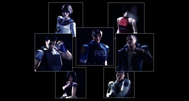 Resident Evil 6: 32-bit-Kostüme